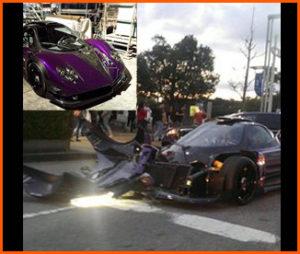 車も時価2億円のパガーニゾンダZOZOを購入後事故で大破しています。やることなすことデカい人です。