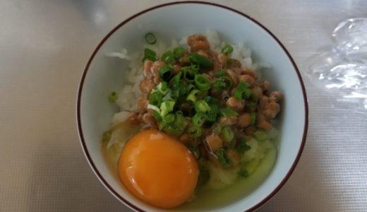 納豆卵かけごはんのカロリーは?タンパク質他栄養とりすぎで太るか調査