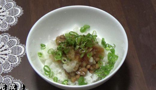 納豆と大根おろしの食べ合わせで栄養と効果効能がさらにアップ!【激安50円貧乏飯】