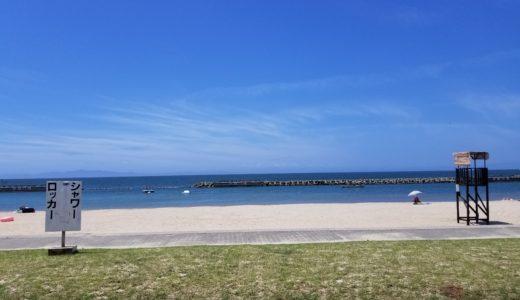 箱作海水浴場・ピチピチビーチに行ってきた!水質とアクセス・駐車場を調査